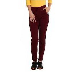 Cotton Ladies Plain Pant
