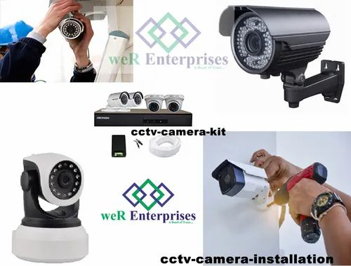 CCTV Camera Installation, in Delhi, For Commercial