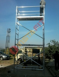 Aluminium Scaffolding - Aluminium Scaffolding Rental Service