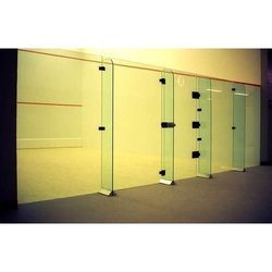 Unique Sports Glass Back Wall Squash Court