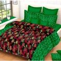 Green Double Bed Sheet