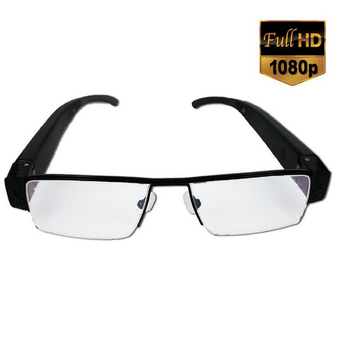 Spy 1080p Full HD Sleek Hidden Glasses Camera