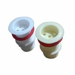 Swati Plastics White PVC Waste Coupling, For Bathroom and Kitchen, Size: 15 Mm