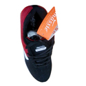 Black And Red Canvas Mens Sports Shoes, Size: 6 - 9 And 7 - 10