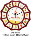 Multi Images Wall Clock