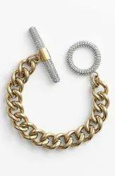 SGA Male 22kt Gold Bracelet