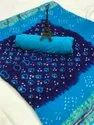 Cotton Bandhej Sarees