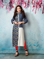PR Fashion Launched Beautiful Semi-Causal Wear Kurti