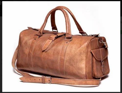 Leather Bag Duffel Travel Men Gym Luggage Genuine S Overnight Men/'s Vintage Bag