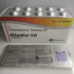 Olanzapine 10mg Tablets (OLADIX-10)