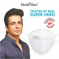 Medi-Max N95 Face Mask BIS/ISI, DRDO Certified Without Valve