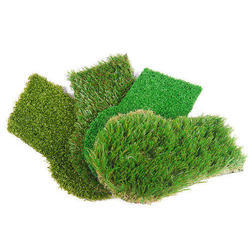 Rubber And PVC Artificial Grass