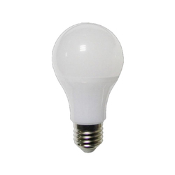 Warm White Round 5 W Aluminum LED Bulb, 3500-4100 K, 140-270 V
