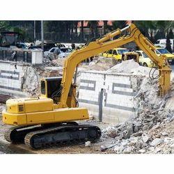 Poclain Excavator Rental Service