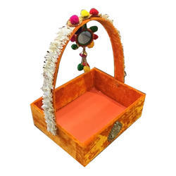 Choko Delights Empty Wooden Basket