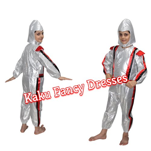 cf125077d Silver/Red Tissu/Polyester Kids Astronaut Kids Costumes, Rs 400 ...