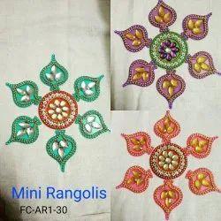 BABY EKKA Acrylic Rangoli
