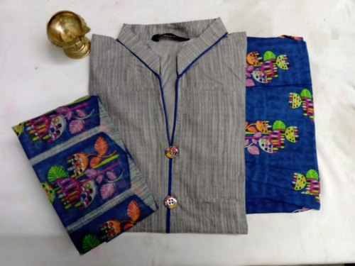 Semi Patiyala Fully Stitched Salwar, Size: XL