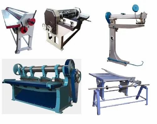 Cast Iron,Steel Corrugated Box Making Machines, for Industrial,   ID:  21185829348