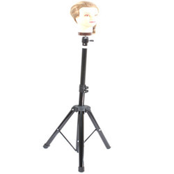 Hairdressing Tripod Head Holder Salon Hair Clamp Wig Stand