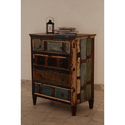 Recycled Wooden 4 Draw Buffet