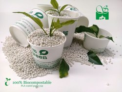 White PLA COATED PAPER CUP, For Parties, Capacity: 100 ML