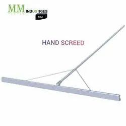 Hand Screed
