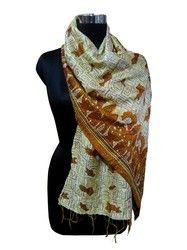 Girls Neck Wrap Silk Scarf