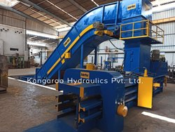 Horizontal Auto-Tie Baling Machine