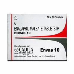 Envas 10 Enalapril Maleate Tablets For Clinical, Packaging Type: Packet