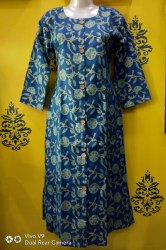 Cotton Round Neck Kurti