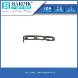 Locking Hook Plate 3.5mm
