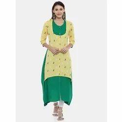 Ladies Cotton Kurta Ethnic Dress