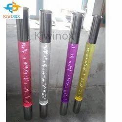 Stainless Steel Acrylic Pillar
