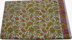 India Hand Block Printed Cotton Fabric