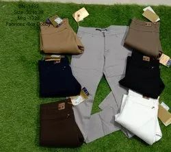 Mens Narrow Fit Trousers
