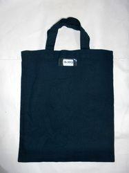 Unprinted Cotton Bag With Self Handle
