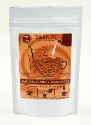 Zingysip Natural Orange Tea ( 250 Gm.) With Burnt Sugar Serve 31 Cups  Hot Or Cold