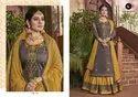 Blossom Vol-9 -Kalarang  Festival Designer Jam Silk Lehenga Suits