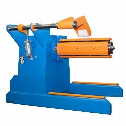 Hydraulic De-Coiler Machine