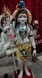 White Marble Shankar Sculpture