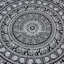 Mandala Tapestry Cotton Hippie Throw