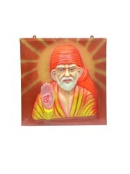 Sai Baba 3D Wall Painting