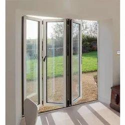 White Aluminium Folding Door, 1.5-2.5 Mm