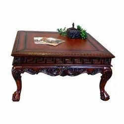 Brown Decorative Wooden Table
