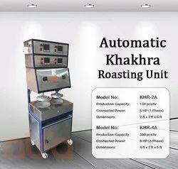 KHR-4A Automatic Khakhra Roasting Machine