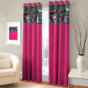 Love Print Digital Curtain
