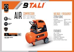 BTALI BT 50 MAC (Monoblock Air Compressor)