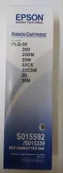 Black Epson Plq20 Geunine Ribbon Cartridge