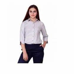 UB-SHI-07 Light Grey Uniform Shirt